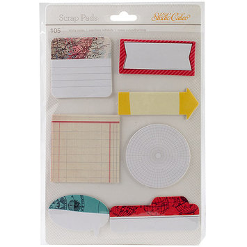 American Crafts 331990 Wanderlust Scrap Pads Sticky Notes