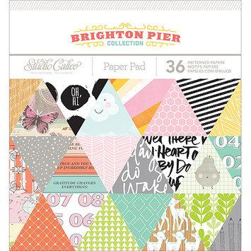American Crafts 332291 Studio Calico Paper Pad 6X6 36/Pkg-Brighton Pier
