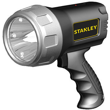 Stanley Sl3hs Rechargeable Li-ion Led Spotlight With Halo Power-saving Mode [600 Lumens, 3 Watts]
