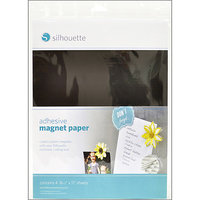Silhouette America Silhouette Adhesive Magnet Paper, 8-1/2