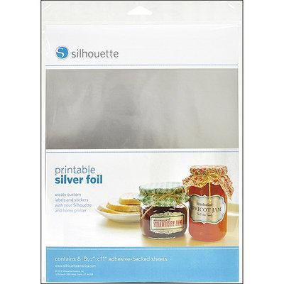 Silhouette America Silhouette Printable Adhesive Foil, 8-1/2