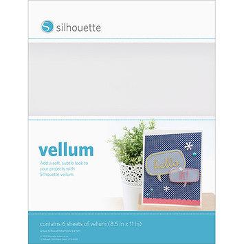 Silhouette Of America Silhouette Vellum Sheets 8.5