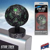 Bif Bang Pow Star Trek: First Contact Borg Sphere Monitor Mate Ship