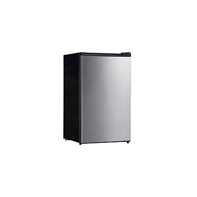 Equator-Midea Stainless Steel 4.4 cubic-foot Compact Refrigerator