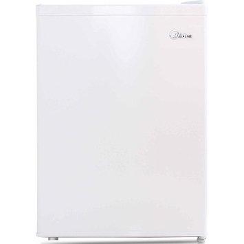 Midea 2.4 cu ft Compact Refrigerator, White