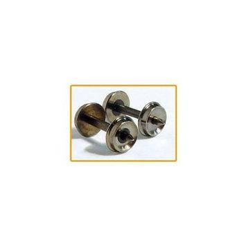 FOX VALLEY MODELS N Brass Wheels, 33 /0.540 Axle (100)