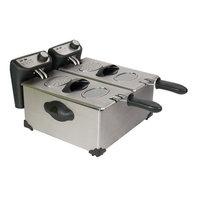 Chard International Llc Chard Non-Stick Stainless Steel Double Deep Fryer