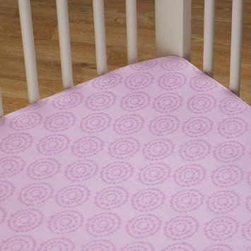 Lolli Living Orchid Sunburst Fitted Sheet