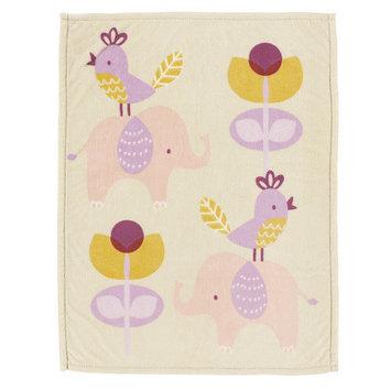 Living Textiles Surina Printed Plush Blanket