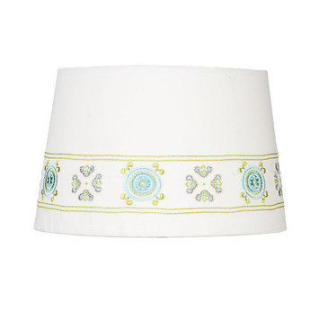 Lolli Living Lamp Shade - Embroidered Geometric