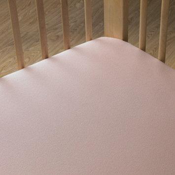 Livingtextilesbaby Jersey Pintuck Bumper Color: White