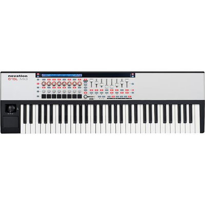 Novation 61 SL MKII 61 Key USB MIDI Keyboard Controller