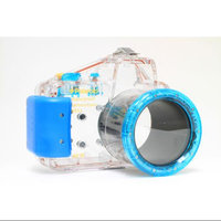 Polaroid Waterproof Underwater Housing Case For Sony Alpha NEX-5N w 18-55mm Lens