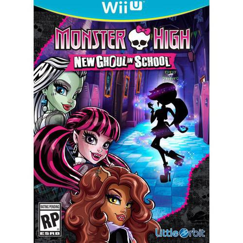 Cokem MONSTER HIGH NEW GHOUL For Nintendo WiiU