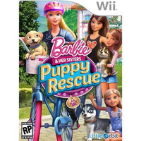 Cokem Barbie & Her Sisters: Puppy Rescue for Nintendo Wii