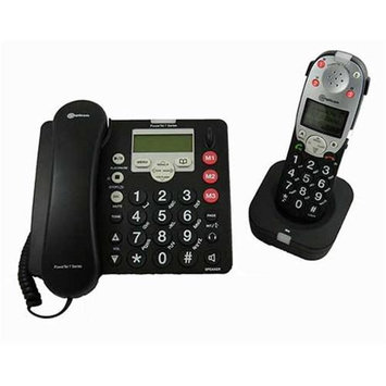 Amplicom SVP1321ECXB Amplified DECT Corded Phone with Answering Machine