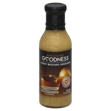 Wholesome Goodness Dressing Honey Mustard 12 Oz Case of 12