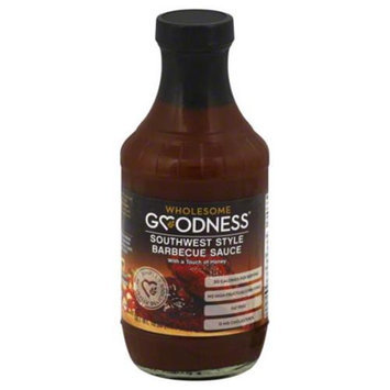 Wholesome Goodness Sauce Barbecue Southwest 18 Oz Case of 12