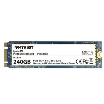 Patriot Solid State Drive PI240GSM280SSDR 240GB