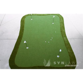 SYNLawn 18-ft x 12-ft Greenmaker Putting Green G1218120180