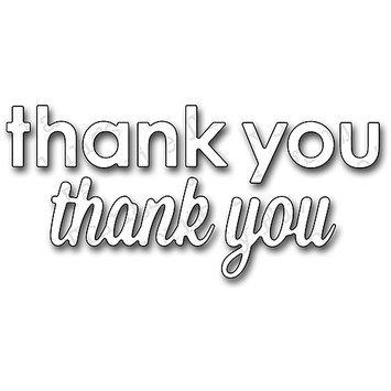 My Favorite Things Die-Namics Dies-Thank You, .75 & .87