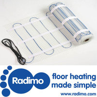 Radimo 110sqft Electric Floor Heating Mat, 240V