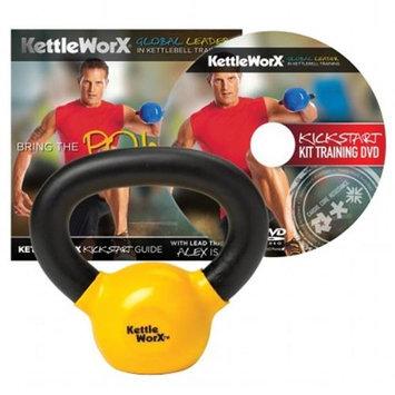 KettleWorx KickStart Kit DVD & 5-lb. Kettlebell Weight