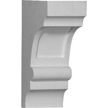 Ekena Millwork 0.33-ft Primed Polyurethane Corbel Accent BKT05X10X03DI