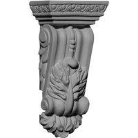 Ekena Millwork 2.75-in x 5.5-in Granada Polyurethane Corbel COR02X01X05GR