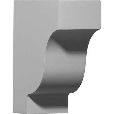 Ekena Millwork 2.88-in Primed Polyurethane Corbel Accent COR05X02X07TR