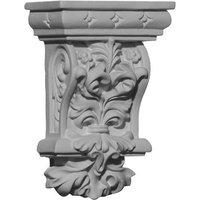 Ekena Millwork 2.875-in x 4.375-in Valletta Polyurethane Corbel COR02X01X04VL