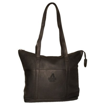 Pangea Brands Pangea Tan Leather Women's Tote - Boston Red Sox