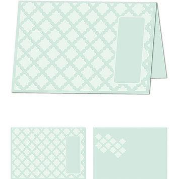 Craftwell eBosser Embossing Folders Letter Size-Gracious Argyle