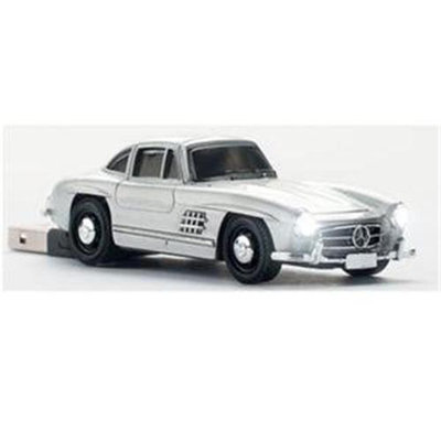 Totally Tablet CCS660387 Mercedes-Benz 300 SL Silver 4GB USB 2.0 Stick
