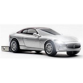 Totally Tablet CCS660363 Maserati Grancabrio Silver Touring 4GB USB 2.0 Stick