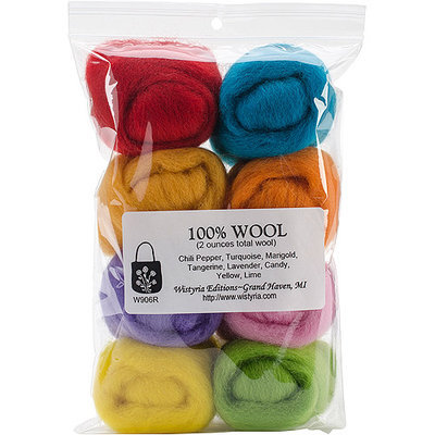 Wistyria Editions NOTM101636 - Wool Roving 12
