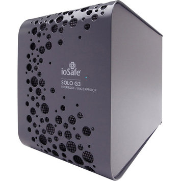 Iosafe SK4TB-MAC 4TB Solo G3 Vv3819 Ext 1yr Drs Fireproof And Waterproof