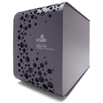 Iosafe SK4TB 4TB Solo G3 USB 3.0 W/ 1yr Drs Ext Fireproof And Waterproof