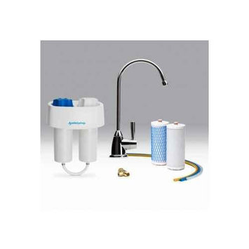 Austin Springs AS-DW-UC-CHR Under Counter Water Filter with Chrome Faucet