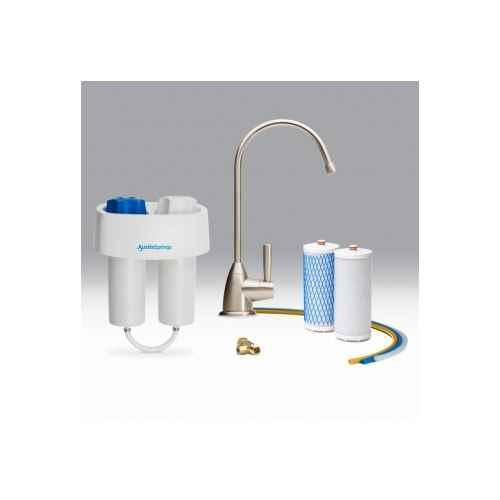 Austin Springs AS-DW-UC-BN Under Counter Water Filter with Brushed Nickel Faucet