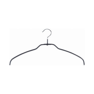 Mawa Silhouette light 42/FT Hangers in Black (Pack of 24)