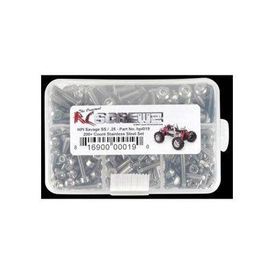 HPI019 Stainless Steel Screw Kit Savage SS/.25 RCZC0319 RC SCREWZ