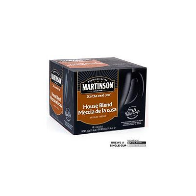 Mother Parkers Tea & Coffee Inc. Martinson Coffee House Blend RealCup (96 Count)