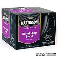 Mother Parkers Tea & Coffee Inc. Martinson Coffee Donut Shop Blend Realcup (96 Count)