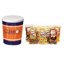 Jodys Popcorn Clemson University - South Carolina Popcorn Tin