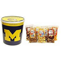 Jodys Popcorn University of Michigan Popcorn Tin