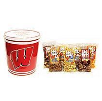 Jodys Popcorn University of Wisconsin Popcorn Tin