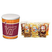 Jodys Popcorn Virginia Tech University Popcorn Tin