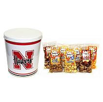 Jodys Popcorn University of Nebraska Popcorn Tin