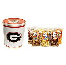 Jodys Popcorn University of Georgia Popcorn Tin